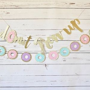 Set of 2 Donut garland